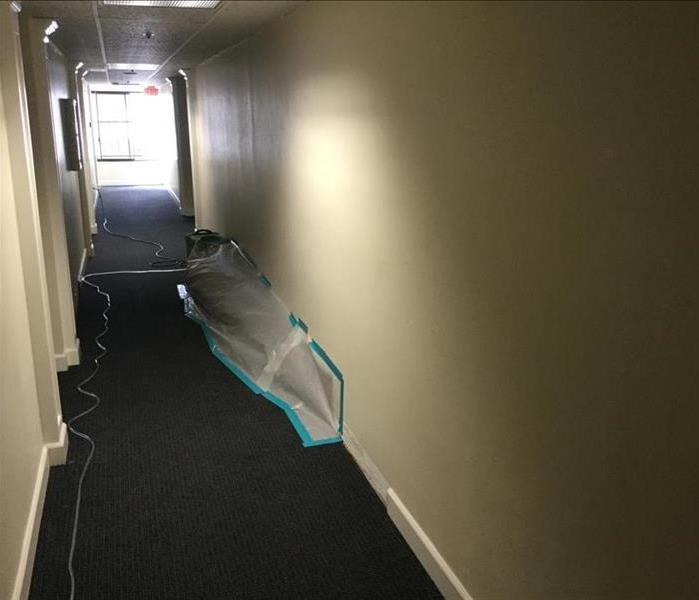 Water Loss in Office Building After